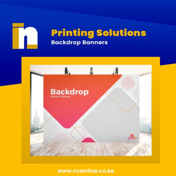 Backdrop Display Banner Image